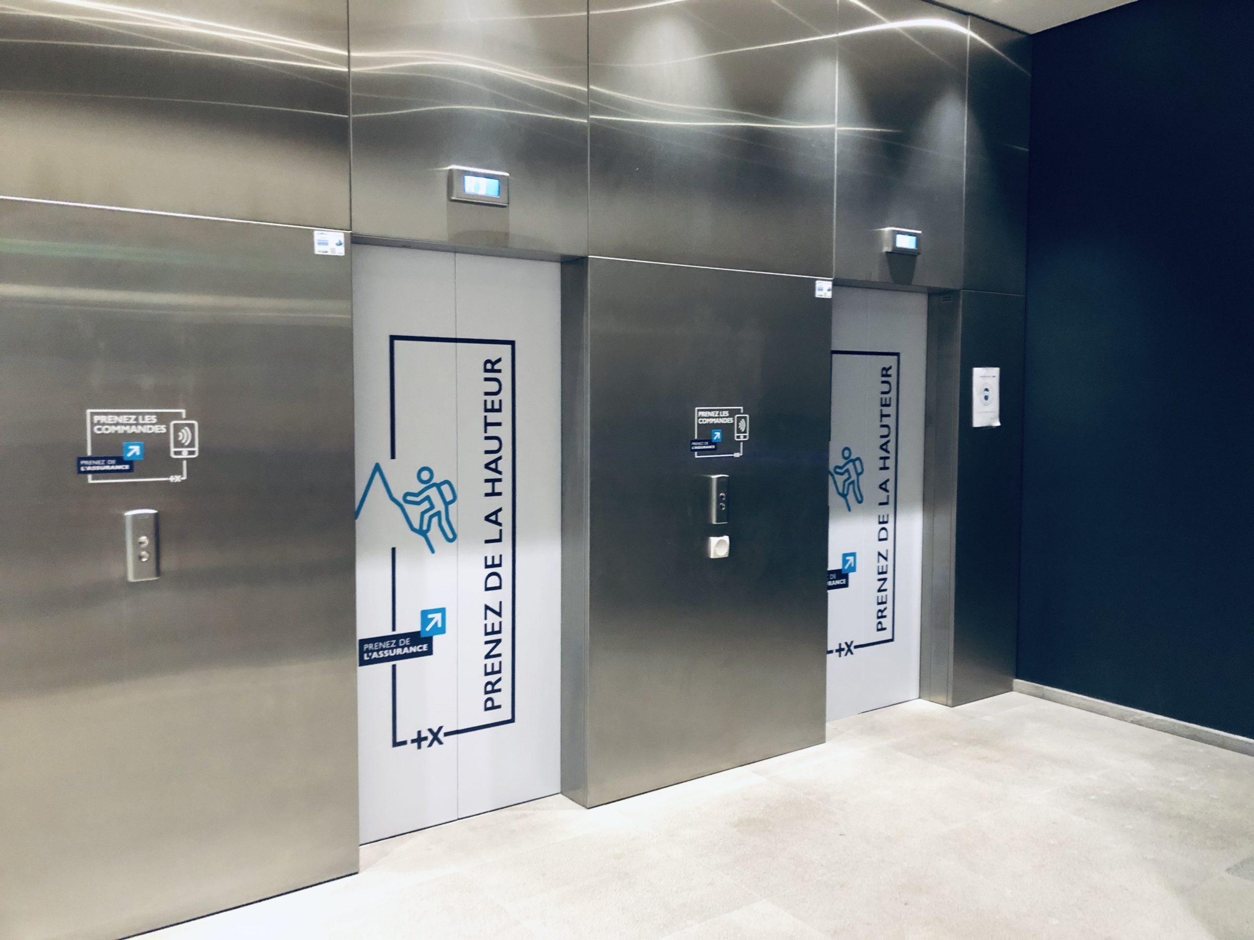 covering ascenseur