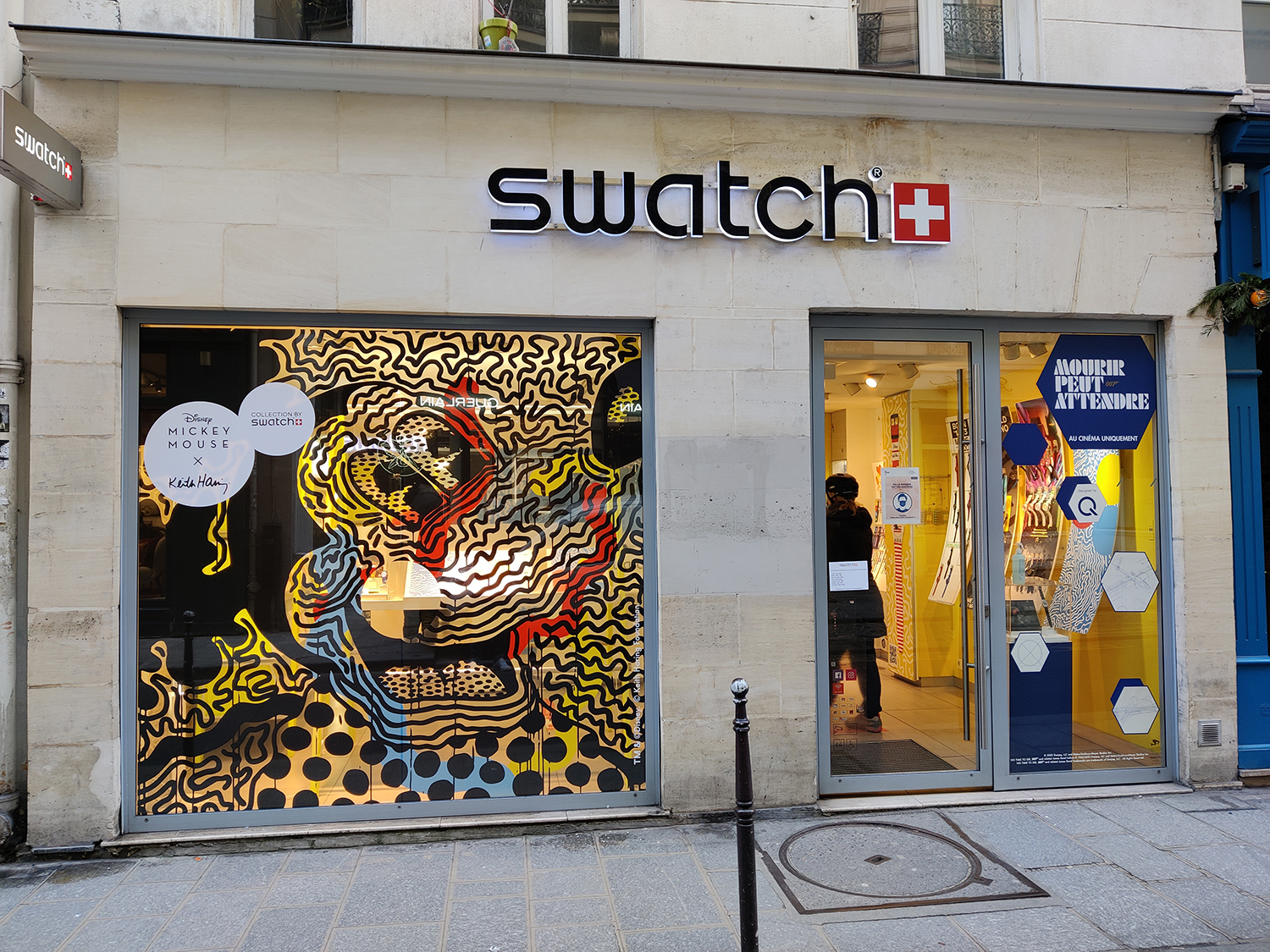 Swatch Franc Bourgeois Keith Haring Disney
