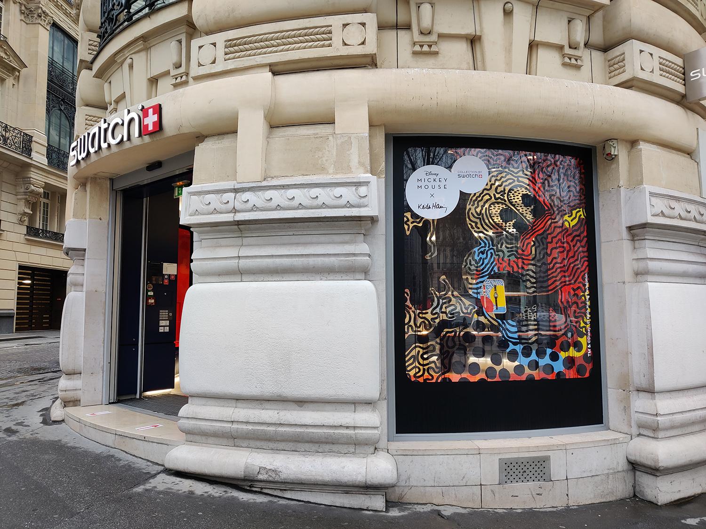 Swatch Megastore Keith Haring Disney